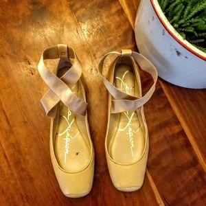 Jessica Simpson Manzie Ballet Flats size 6